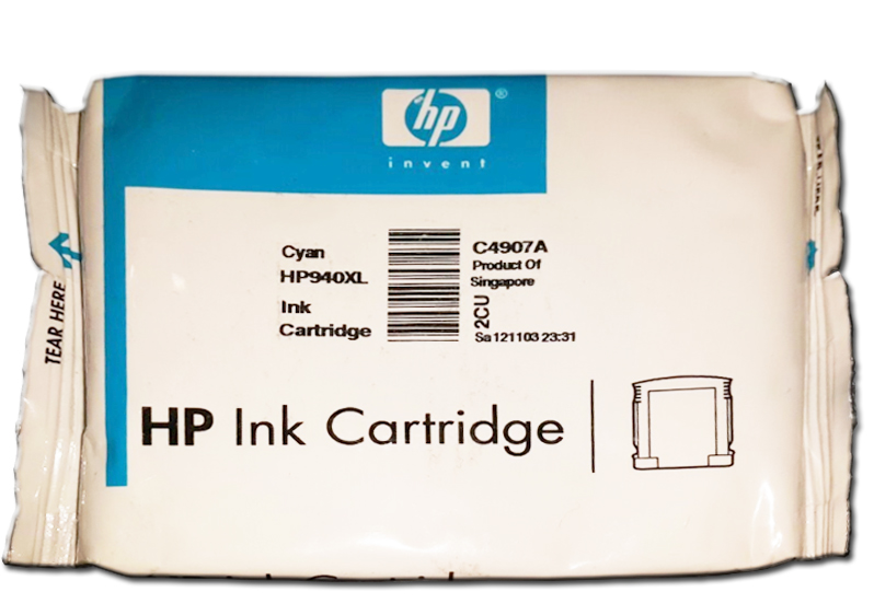 Cartucho de Tinta HP 940 XL Preto Original Embalagem Blister Officejet Pro 8000/8000WL/8500/8500WL