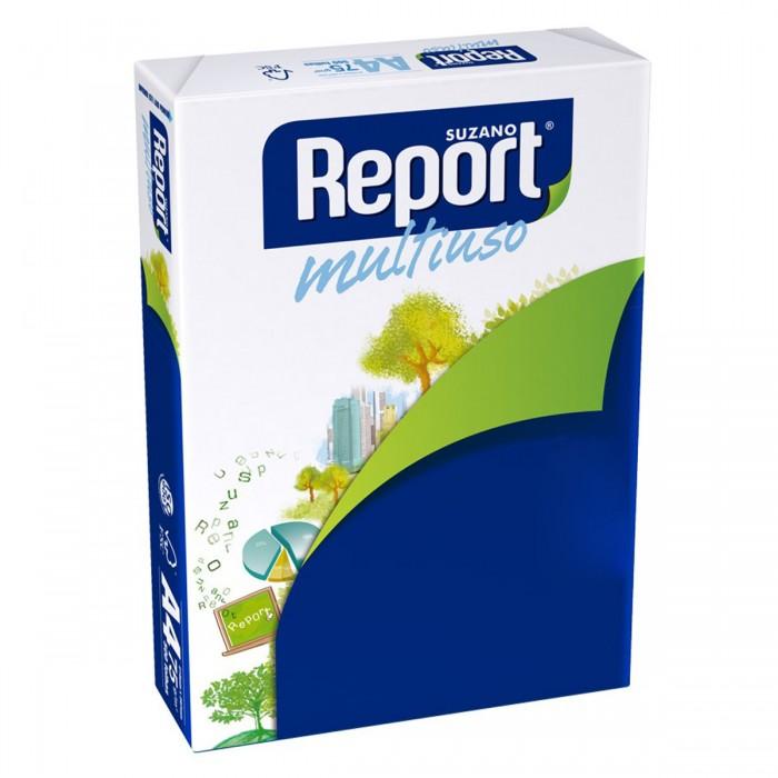 Papel Sulfite Report Carta Branco 75G Pacote 500 folhas