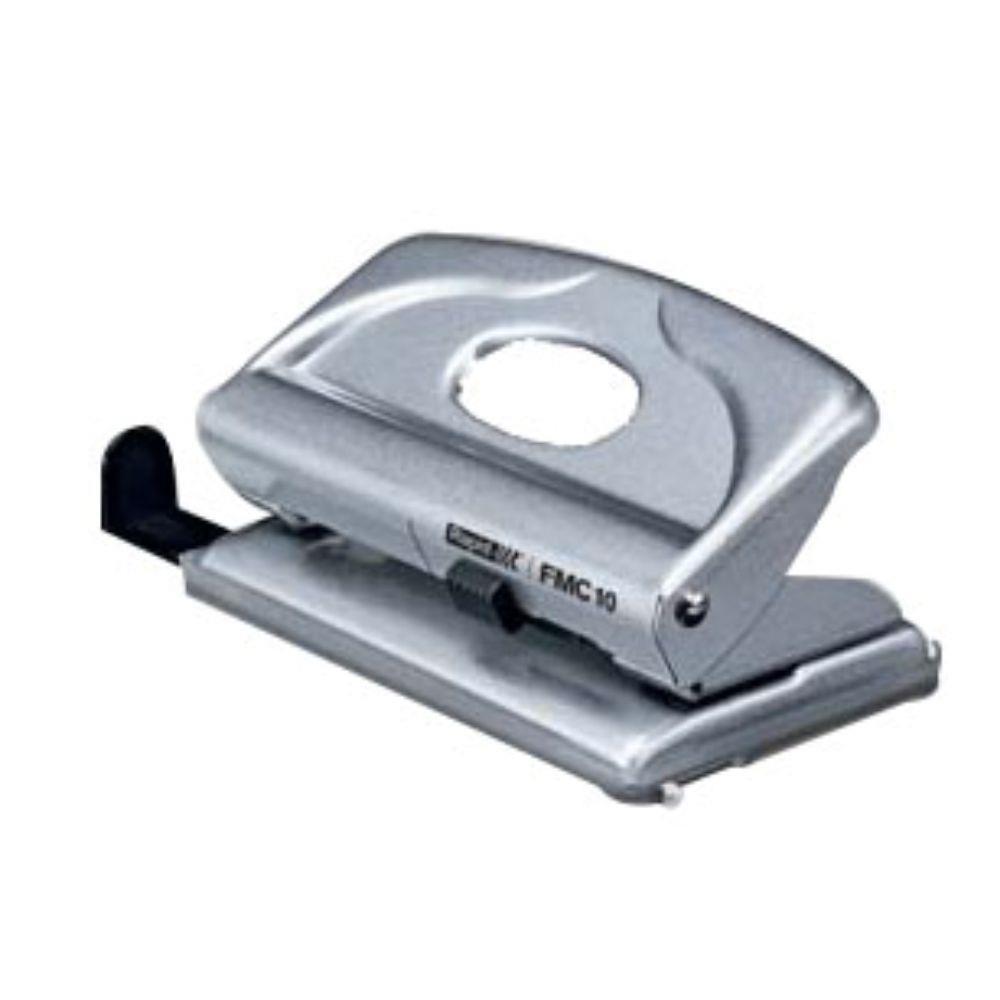 (FORA DE LINHA) Perfurador de Papel Compacto Rapid FMC 10 - Perfura até 10 folhas 14916