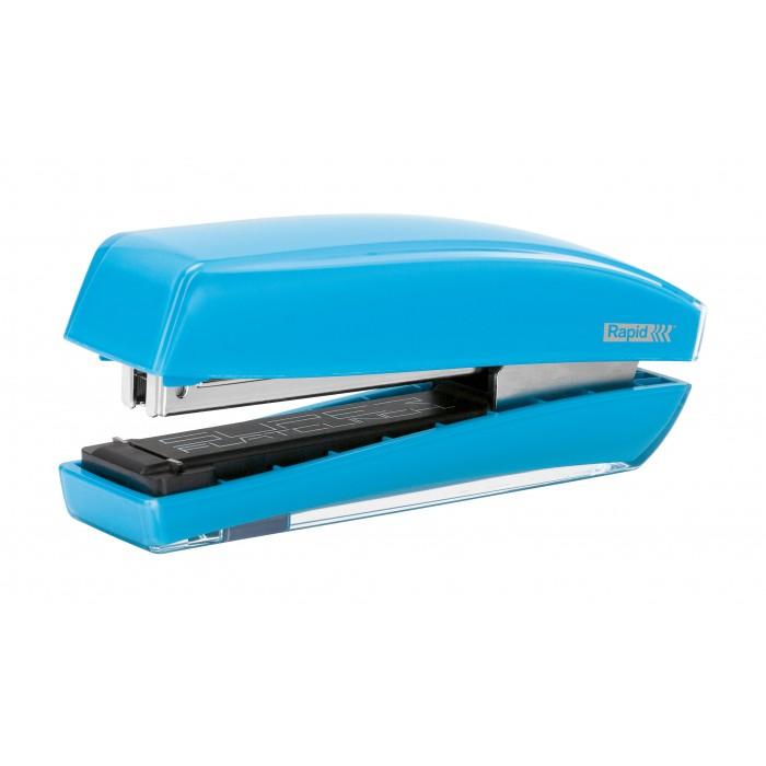 Grampeador Rapid Freeze Cor Azul Grampeia até 30 Folhas 60537