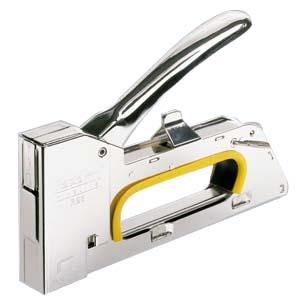 Grampeador Pistola Rapid R23 em Aço Cromado, Grampo 13/4-8 e 19/4-8 14126