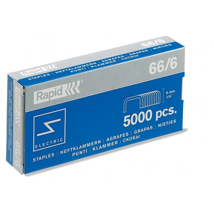 Grampos Rapid Nº 66 - 66/6, Caixa com 5000 grampos