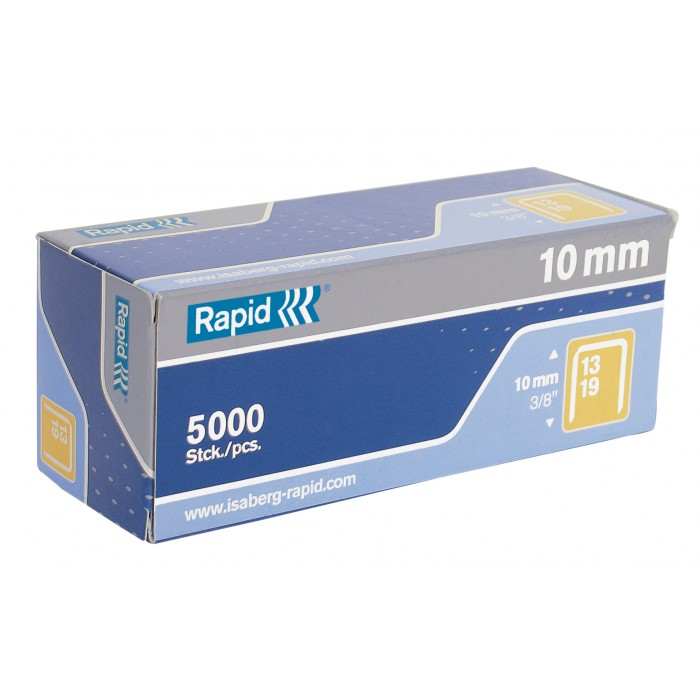 Grampos Rapid Nº13 13/10 Cx com 5000 Grampos 14780