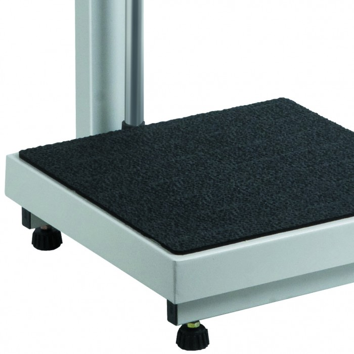 Balança Ramuza Antropométrica 200Kg x 50g Plataforma 40x40cm Bivolt 4001