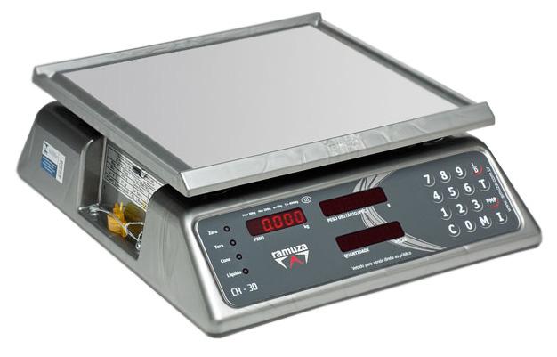 Balança Contadora de Peças Ramuza Capacidade de 3kg (Cod: 7304)