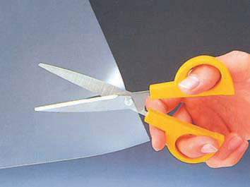 Tesoura Olfa SCS-3 - Lâminas de aço inoxidável