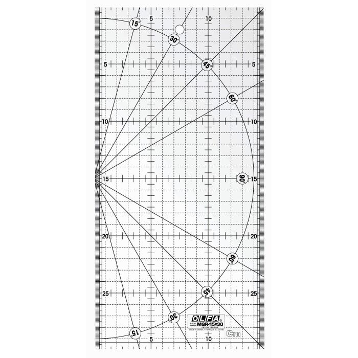 RÉGUA MQR OLFA-15X30CM 14927