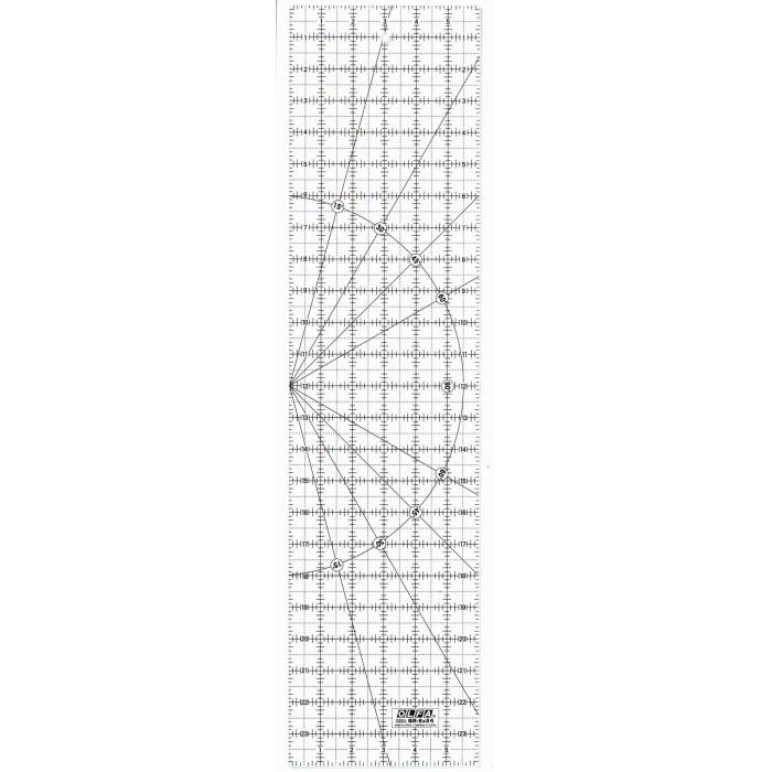 RÉGUA OLFA QR-6X24 POLEGADAS 14923