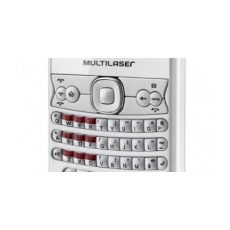 Celular Multilaser Way P3179 - Branco TV,3 chips,FM,MP3,MP4