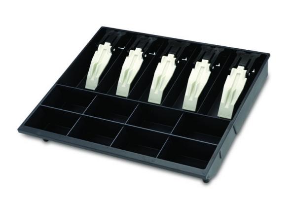 Porta Cédulas e Moedas(Niqueleira) Menno Mg 40 Prendedores Plásticos interno para gaveta