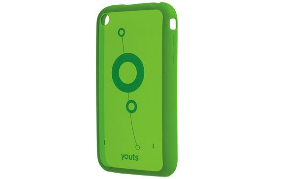 (FORA DE LINHA) Case de PC e TPU Youts para iPhone 3 ProCase Air - Verde