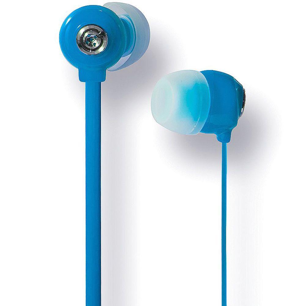 Fone de Ouvido Youts In-Ear Candy Colors Azul