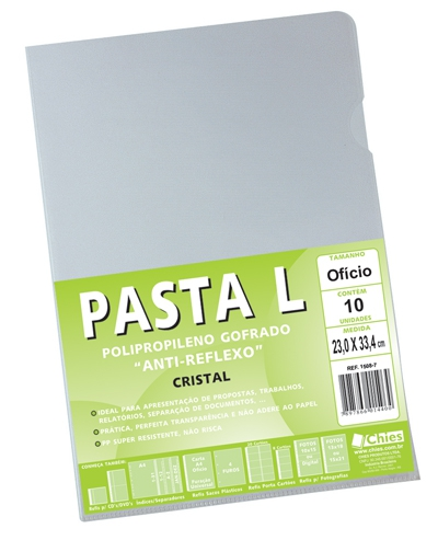 Pasta L Chies Of 120 my - Cristal - Ref.: 1504-9