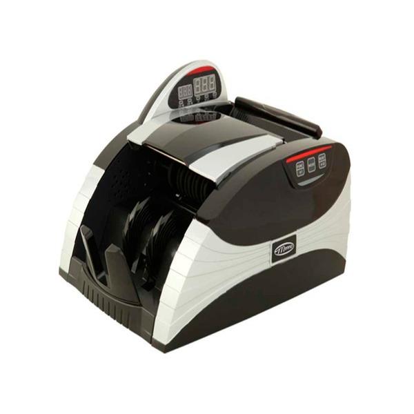 Contadora de cédula Menno DP5100E conta 1.000 cedulas por minuto, leitor uv e magnético, 220V