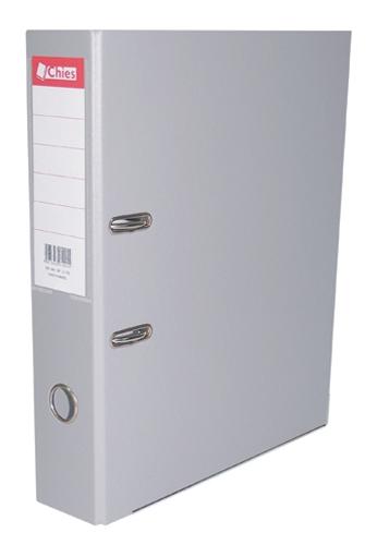 Registrador A-Z LL A4 Classic Chies Cinza Tamanho: 28,5 x 31,5 x 7,3 cm - Ref.:1080-8