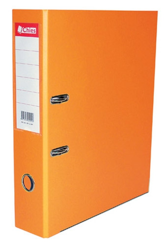 Registrador A-Z Ll A4 Classic Chies Laranja Tamanho 28,5x31,5x7,3cm 2522-2