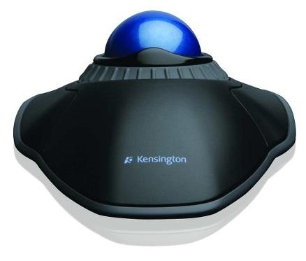 Trackball Kensington USB com anel de rolagem Orbit