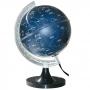 Globo Celeste Libreria Cielo Bivolt 21cm Base Plástico Constelações e Estrelas Iluminado 313109