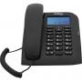 Telefone Intelbras Tc 60 ID Preto com Identificador de Chamadas