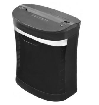 Fragmentadora de Papel Menno XC1200 Corta 12 folhas em Partículas de 4 x 32mm CD, Fenda 220mm, Cesto transparente de 14 L, com rodas, Nível de Segurança 3, 127V (FORA DE LINHA)