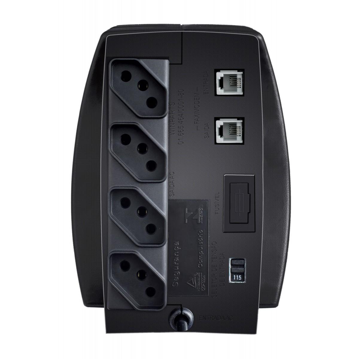 Estabilizador Exxa Power T 300va Enermax E/s 115v Preto