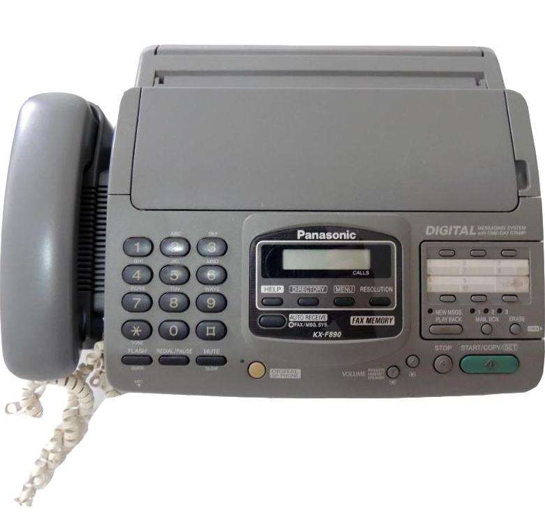 Fax Panasonic KX F880 ( Semi - Novo )