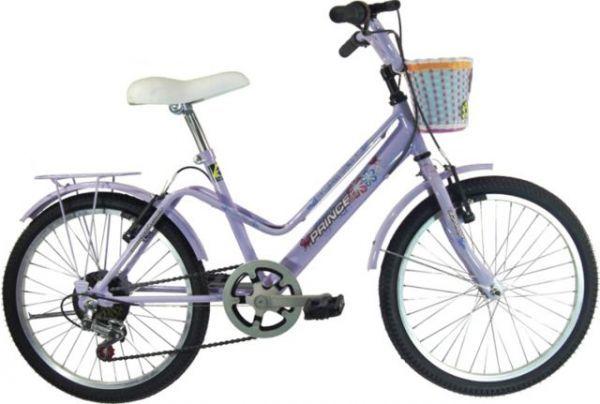 Bicicleta Prince Garden 20 fem. Lilás