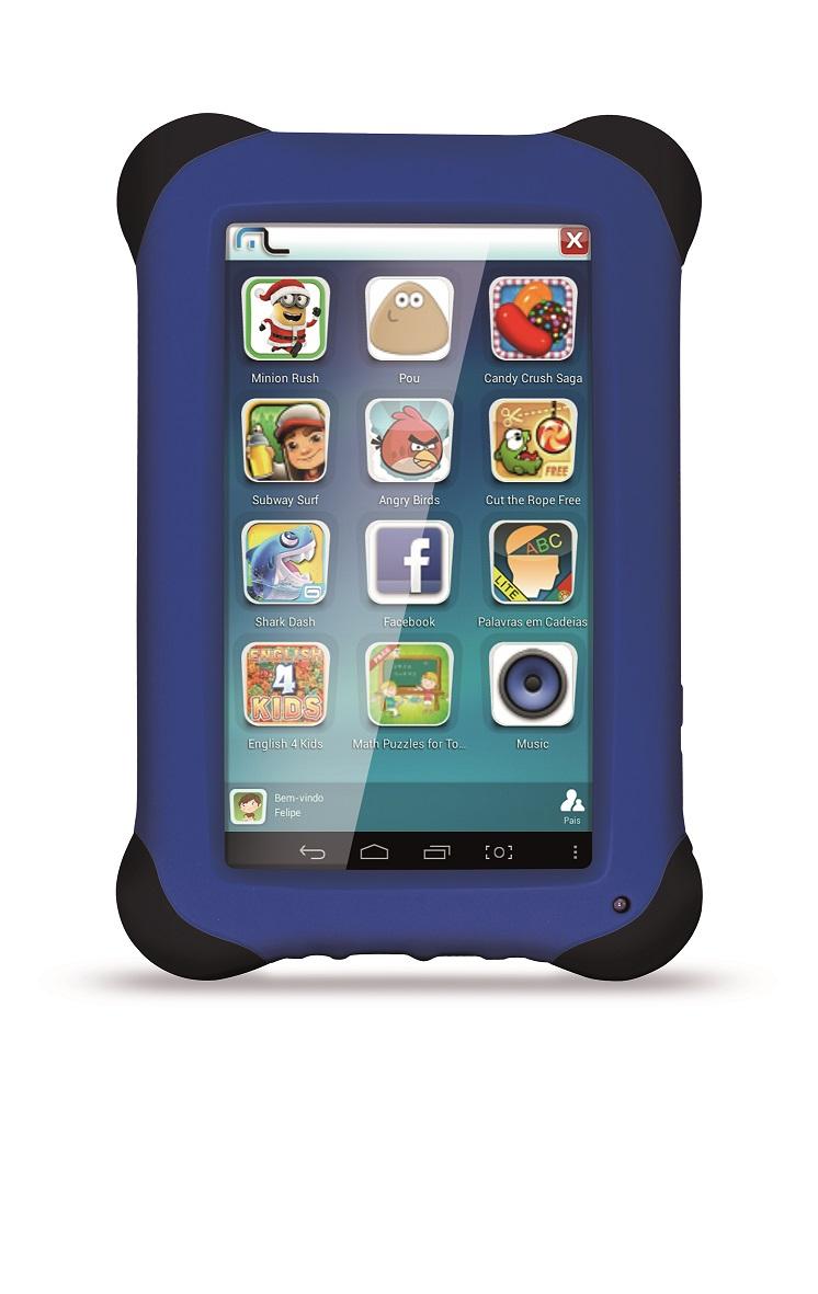 Tablet Kid Pad 7 Azul Dual Core Multilaser NB124