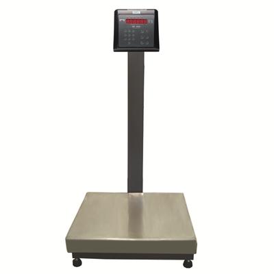 Balança Industrial Plataforma em Aço Carbono Ramuza DP - Capacidade: 200kg, Base: 50x50cm, IDR de ABS com bateria