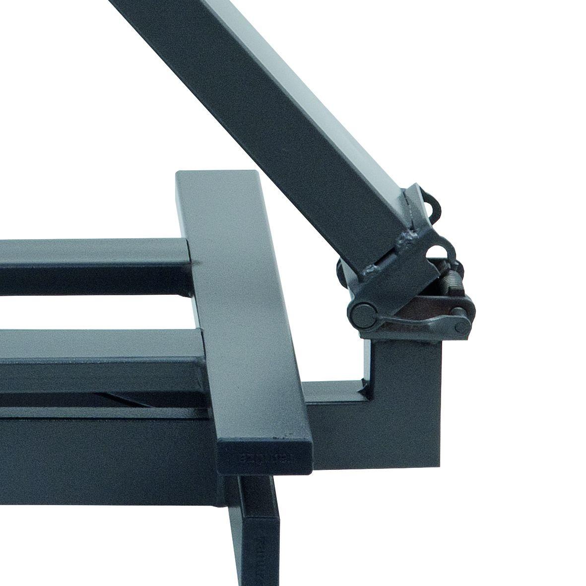 Balança Industrial Plataforma em Aço Carbono Ramuza DP - Capacidade: 500kg, Base: 60x60cm, IDR de ABS com bateria