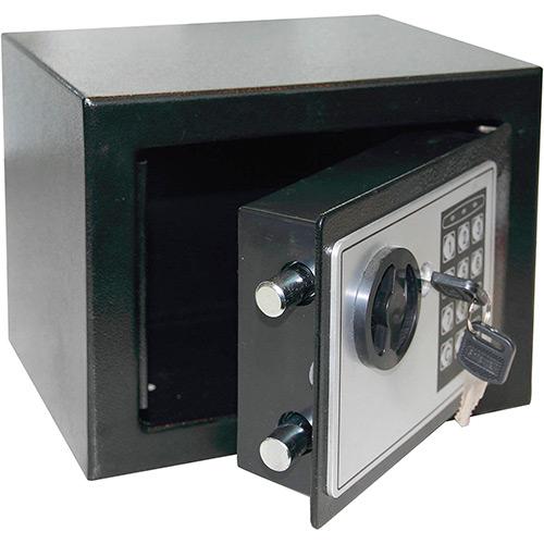 Cofre Eletrônico Safewell 17 EF - Medidas Externas (AxCxP): 170x170x230mm