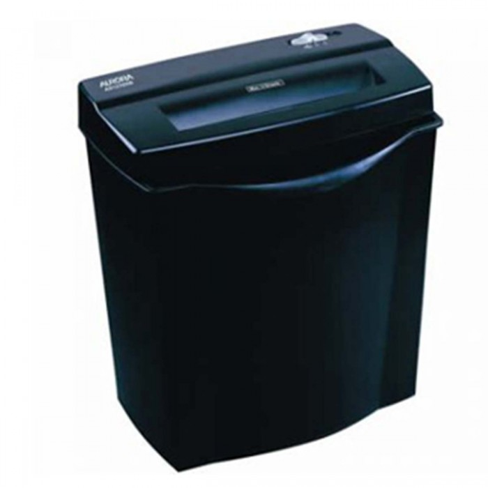 Fragmentadora de papel Aurora AS1210SB - 220V Corta 12 folhas em Tiras de 6mm ou CC, lixeira 12 litros, fenda 220mm, Nível de Segurança 02