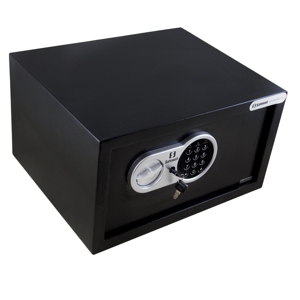 Cofre Safewell Eletronic Safe 23ETW, Dimensões 229 X 405 X 335 MM, espessura 2-5mm