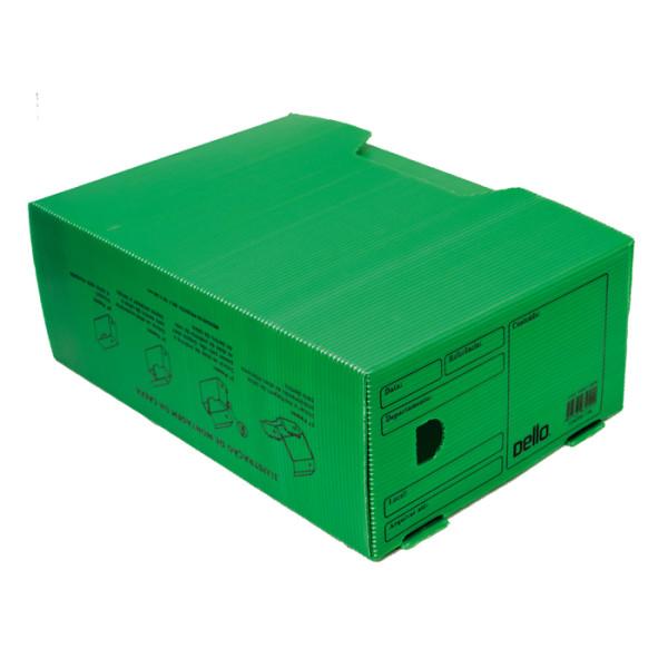 Caixa De Arquivo Morto Oficio Polidello DELLO Verde 0326 C/25 Unid.