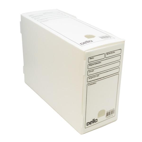 Caixa de Arquivo Morto Oficio Polidello Dello Branco 0326 Com 25 Unidades