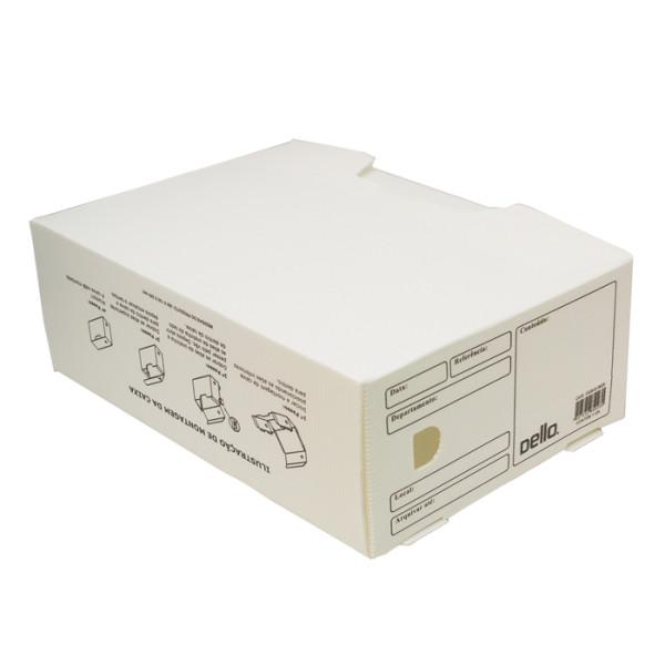 Caixa De Arquivo Morto Oficio Polidello DELLO Branco 0326 C/25 Unid.