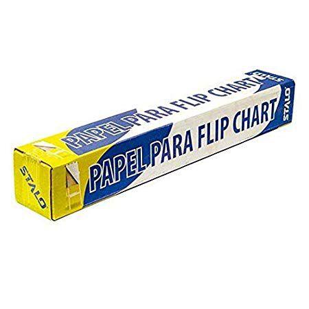 Bloco para Flip Chart Stalo 8653 medidas 80x63cm gramatura 56 gramas com 50 folhas