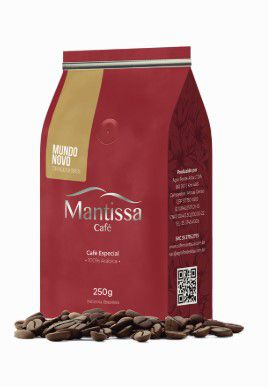 Café em Grãos Mantissa Mundo Novo 250g Torra média BSCA 85 Pontos