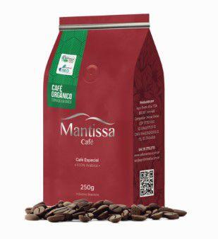 Café em Grãos Mantissa Orgânico 250g Torra média