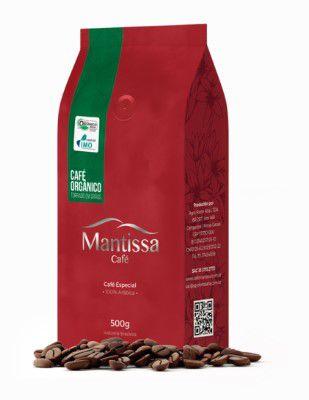 Café em Grãos Mantissa Orgânico  500g Torra média