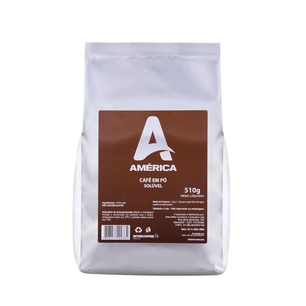 Café em Pó Solúvel América 510g