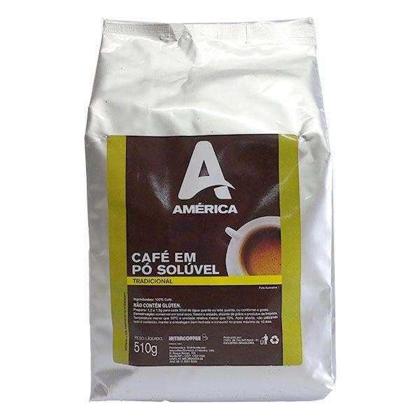 Café em Pó Solúvel América 5,1Kg
