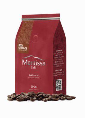 Café Mantissa Moca Chocolate Torrado em Grãos 250g