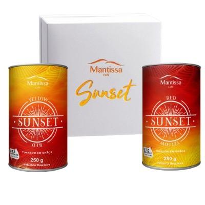 Café Mantissa Sunset Microlote em Grãos 85+BSCA Kit com 2 pacotes 250g Catuai Amarelo e Mundo Novo