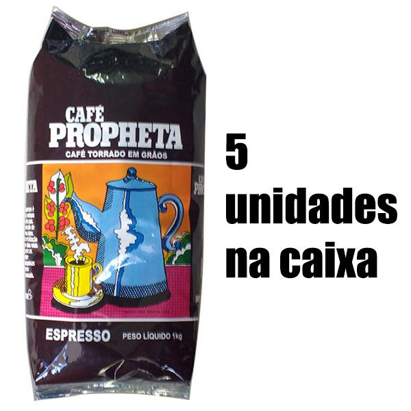Café Propheta Tradicional em Grãos 5kg Blend com Torra Média