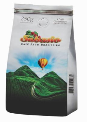 Café Torrado Moído Subasio 250g Torra Média Clara BSCA 84 Pontos
