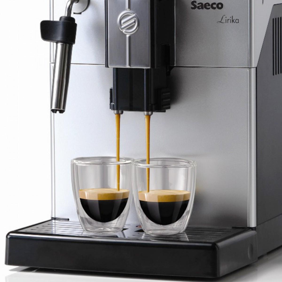 Cafeteira Automática Saeco Lirika Plus 110v Moedor Visor Iluminado Bomba 15 Bar