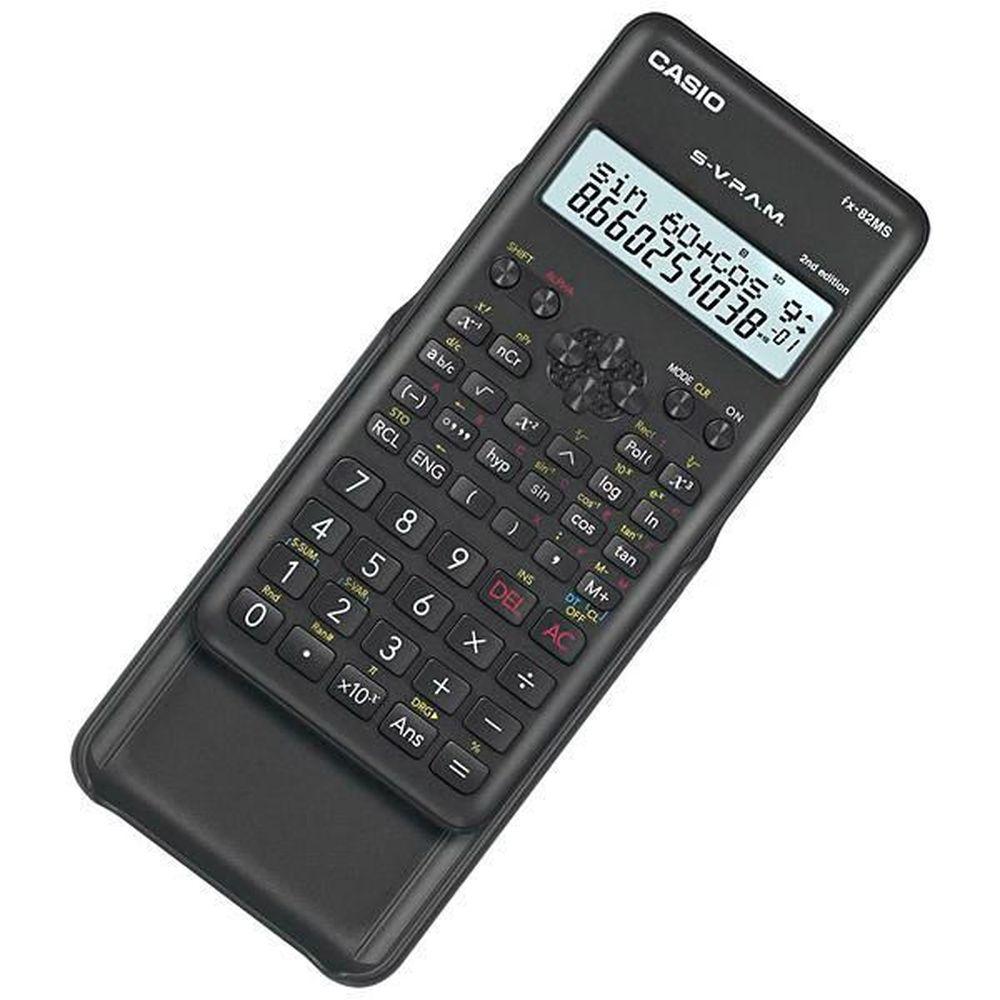 Calculadora Científica Casio Fx-82Ms 3 Anos Garantia 240 Funções