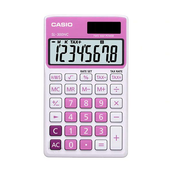 820afe2e552 Calculadora de Bolso Casio Colorful Sl-300Nc-Pk-S-Dp 8 Díg Cálculo ...