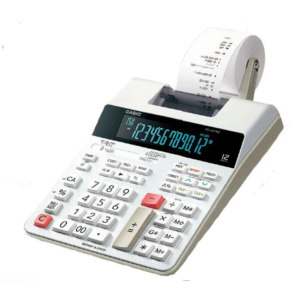 Calculadora de Impressão Casio FR-2650RC-B-DC Bivolt Bicolor 2 Lps